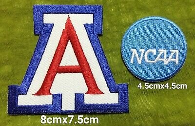 - Arizona Wildcats+NCAA Logo Sport Embroidery iron,sew,Patch,decorate on Fabric
