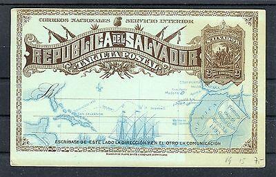 Ganzsache (ungebraucht) Republica del Salvador 2 Centavos - b2324