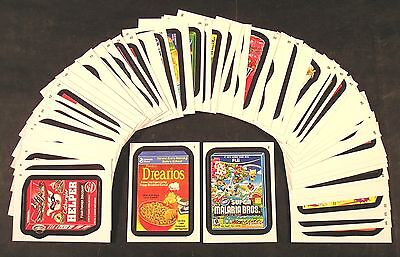 2014 Topps Wacky Packages Series 1 COMPLETE BASE SET of 55 stickers nm+