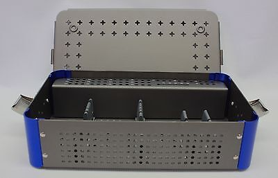 Empty Orthopedic 4.5mm Cannulated Screw Rack Instrument Case Small 1 Level