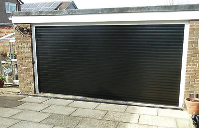 Electric Insulated Roller Garage Door- Made to Measure- Classic 77