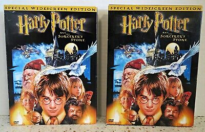Harry Potter and the Sorcerers Stone (DVD, 2-Disc WS) WITH ORIGINAL OUTER SLEEVE