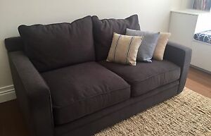 As new, gorgeous Freedom Furniture Anderson 2.5 seat sofa Coorparoo Brisbane South East Preview