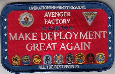 VAW-124 MAKING DEPLOYMENT GREAT AGAIN 2017 CRUISE PATCH