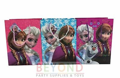 Frozen Elsa, Anna, Olaf Goody Bags, Party Favor Goodie Bags Gift Bags Birthday (Olaf Party Bags)