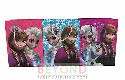 Frozen Elsa, Anna, Olaf Goody Bags, Party Favor Goodie Bags Gift Bags Birthday (Frozen Favor Bags)