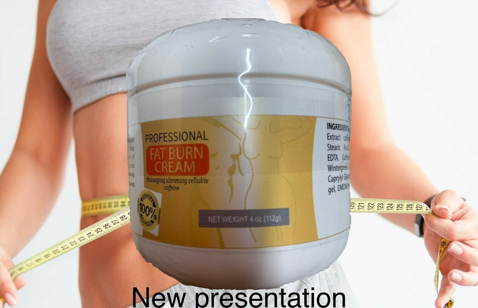 Cellulite Removal Cream Fat Burning Slim Cream Tight Muscle Weight Loss 113 GR  1