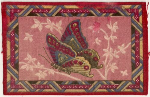 Colorful Butterfly Tobacco Felt #4