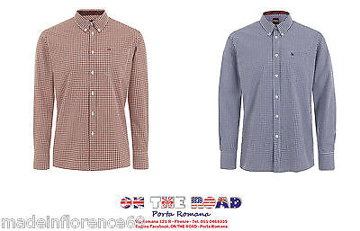 SCONTO 20% MERC LONDON CAMICIA GINGHAM JAPSTER XS S M L XL XXL CASUAL MODS