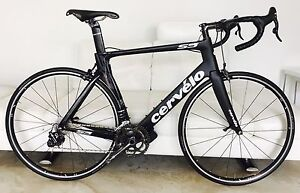 2016 Cervelo S5 Size 58 Campagnolo EPS Electric Power Shift Groupset Scarborough Stirling Area Preview
