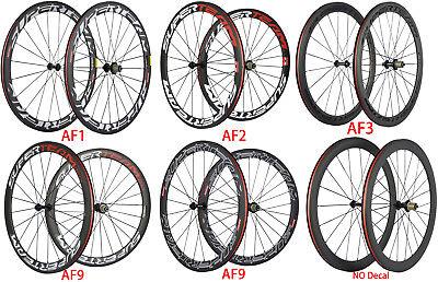 Superteam Carbon Wheels 50mm Road Bike Carbon Wheelset Shimano 3k Matte