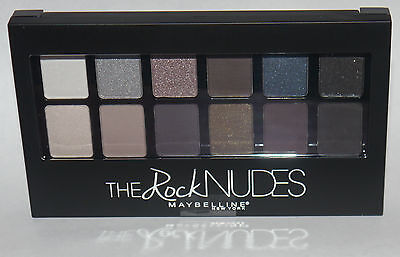 Maybelline New York Expert Wear THE ROCK NUDES Eyeshadow Palette 0.35 oz **