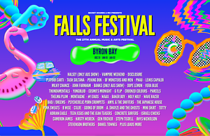 FALLS FESTIVAL - BYRON BAY - PAIR (x2) 3-DAY TICKET   4-DAY CAMPING