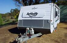 2000 Caravan Pop Top Gazal Infinity New Generation Diamond Creek Nillumbik Area Preview