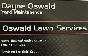 oswald lawn services Coomera Gold Coast North Preview