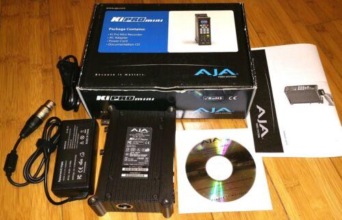 AJA Ki Pro mini Compact Field Video Recorder HDMI SDI HD SD ProRes 4:2:2 w/Power