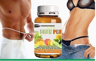 Drenante Forte | Dimagrante Potente | 60 cpr | Coadiuvante dieta | Ananas Fucus