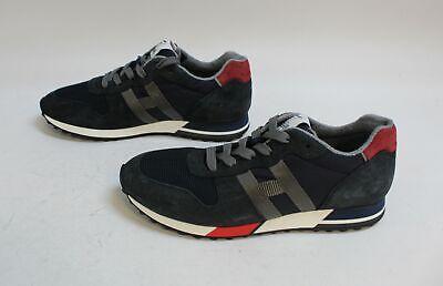 Hogan Men's H86Run Runner Sneakers KB8 Blue Size US:9.5