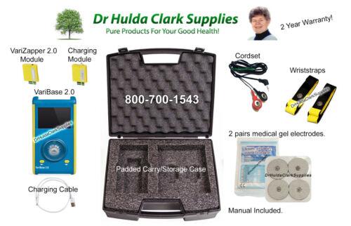 Dr Hulda Clark - VariZapper 2.0 - Frequency Generator -  Free USA Shipping!