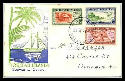 GP GOLDPATH: TOKELAU ISLANDS SOUVENIR COVER 1948 _CV677_P15