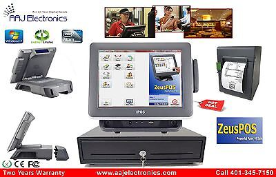 Retail Restaurant All-in-one Point Of Sale Complete System Pos