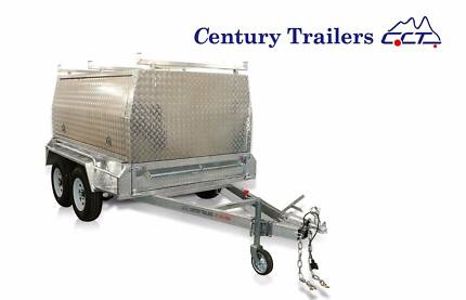8 x 5 Tandem Tradies Trailer With Marine Grade Alloy Canopy - ATM