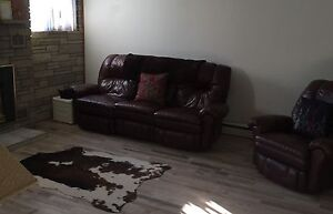 Couch and Chair for sale.