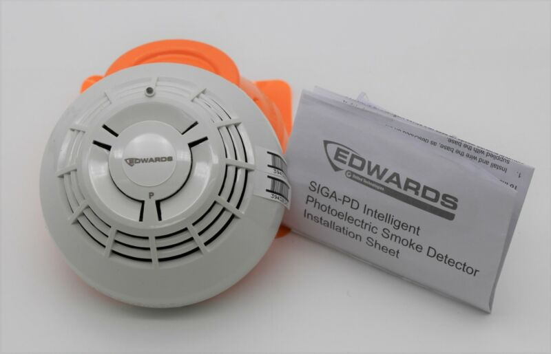 Edwards EST SIGA-PD Intelligent Photoelectric Smoke Detector New Free Shipping