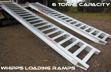 Loading Ramps 6 Tonne Capacity 3.6metres x 500mm track width