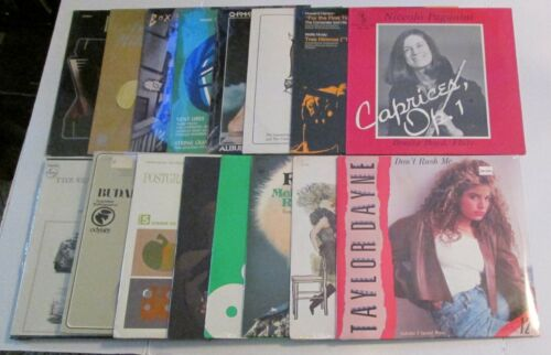 Lot of 16 Vintage Vinyl Records NEW SEALED Music LP Childrens Pop Rock Classical