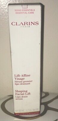 CLARINS Shaping Facial Lift Serum, Lipo-drain 1.6 oz NEW IN (Lipo Lift Serum)