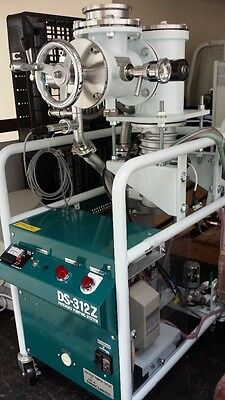 Diavac Ds-312z Packed Pumping System Dpf-3z Diffusion Pump Rotory Ghp-150b