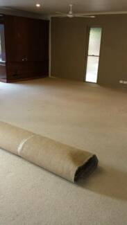 Carpet and Underlay $80