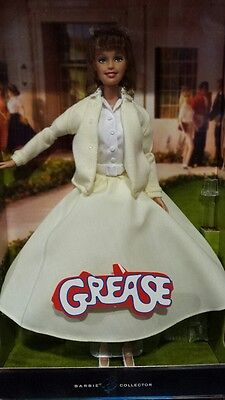 Barbie as Sandy from Grease (Yellow dress) Mattel NEW #3181 NEW NRFB](Sandy From Grease)