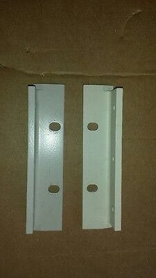 1 Set Agilent Hp 5.2 Rack Mount Ears For Use Without Handles Light Grey