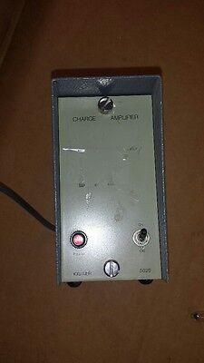 Kistler 5020 Charge Amplifier Working