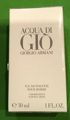 Acqua di Gio by Giorgio Armani 1oz  EDT Spray New n Box