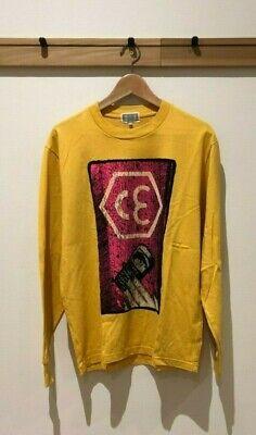 Cav Empt yellow hex CE long sleeve t-shirt Size M