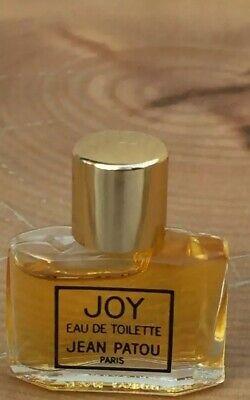 JOY Eau De Toilette Jean Patou Miniature Old Formula Full Vintage Mini EDT