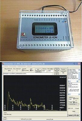 Air Ion Counter Ionometer Luftionen Messgert Luftionen Messen Luftion
