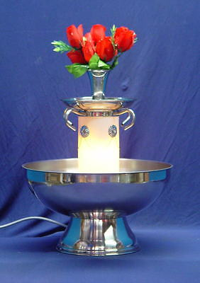 San Marino 5 Gal Stainless Champagne Punch Party Beverage Fountain Factory 2nd