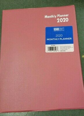 2020 Monthly Desk Planner Appointment Calendar Day Timer 10.25