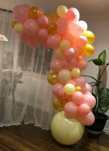 Selling newly made  Balloon garland, balloon decor for sale