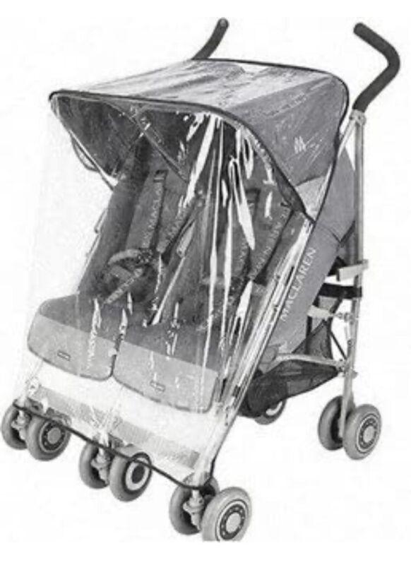 maclaren Double stroller Rain Cover