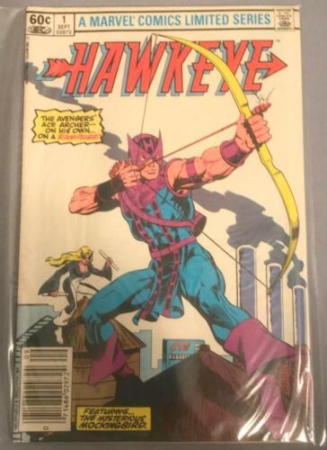 Hawkeye comic book issue 1 Marvel Comics Bronze Age