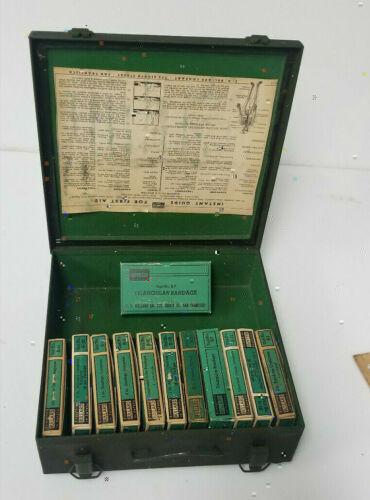 Vintage Bullard First Aid Kit