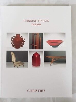 CHRISTIES CATALOGUE THINKING ITALIAN DESIGN OCT18 SCARPA INGRAND DE POLI PONTI+