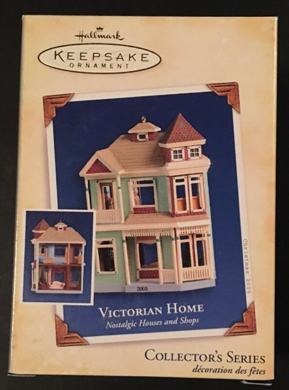 Hallmark: VICTORIAN HOME - #22 in the Nostalgic Houses and Shops - Dated 2005