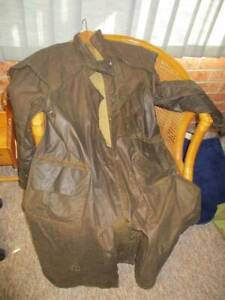 Claybourn Oilskin Coat - Pony Large Windsor Hawkesbury Area Preview