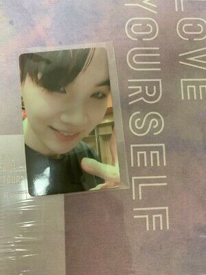BTS Love Yourself In New York DVD SUGA Yoongi Photocard Limited Rare